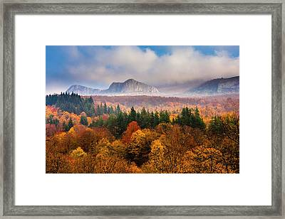 Land Of Illusion Framed Print