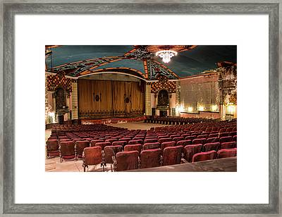 Framed Print featuring the photograph Lansdowne Theater by Kristia Adams