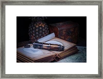 Last Adventure Memories Framed Print