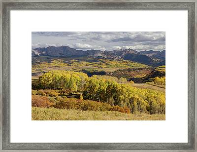 Framed Print featuring the photograph Last Dollar Road by James BO Insogna