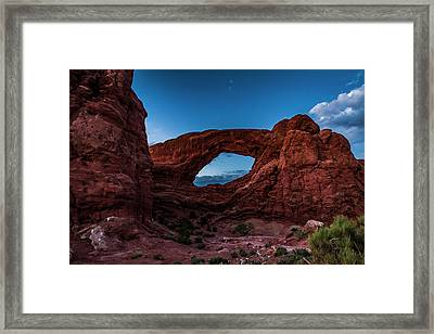 Last Light Through The South Window Framed Print
