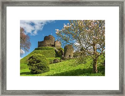 Launceston Castle, Cornwall Framed Print by David Ross