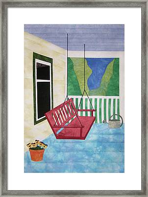 Lazy Summer Afternoon Framed Print