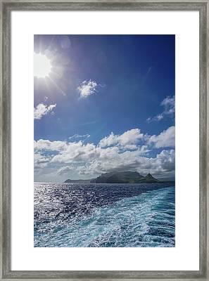 Leaving Paradise Framed Print