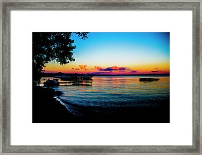 Leech Lake Framed Print