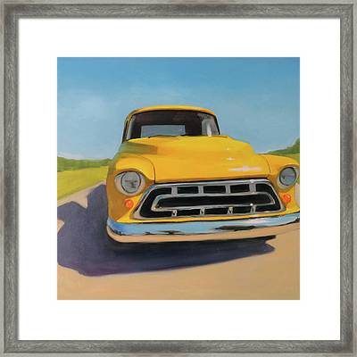 Lemon Drop Martini Framed Print