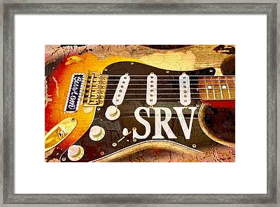 Lenny Stevie Ray Vaughans Guitar Framed Print