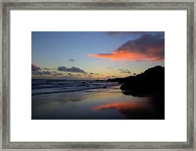 Leo Carrillo Sunset II Framed Print