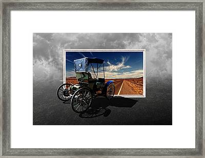 Let's Go On A Colorful Adventure Framed Print