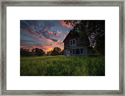 Framed Print featuring the photograph Letters From Home by Aaron J Groen
