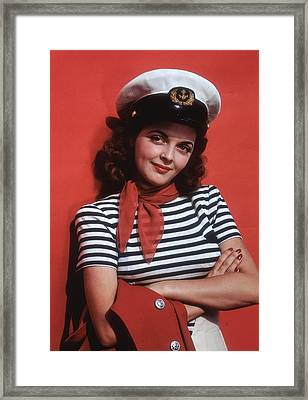 Life On The Seas Framed Print by Tom Kelley Archive