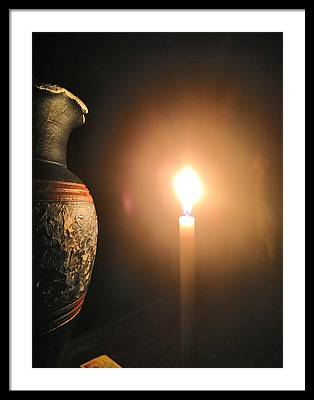 Candle Light Framed Prints