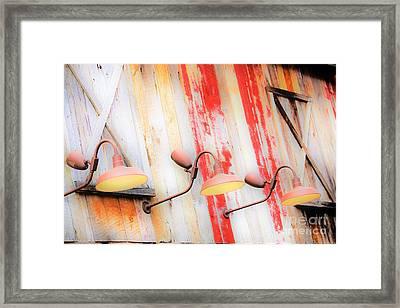 Light My Side Framed Print