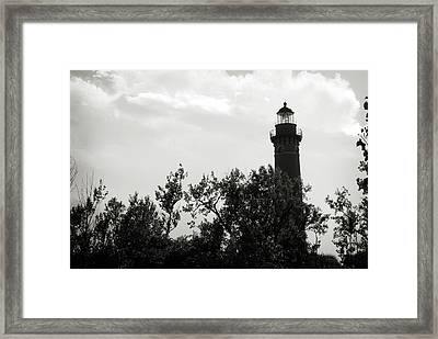 Framed Print featuring the photograph Lighthouse by Michelle Wermuth