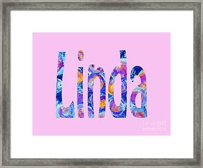 Linda 2 Framed Print