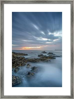 Framed Print featuring the photograph Lines - Matosinhos 2 by Bruno Rosa