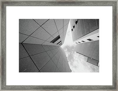 Framed Print featuring the photograph Lines - Matosinhos by Bruno Rosa