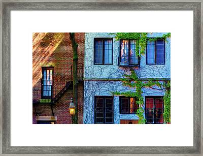 Lines, Texture, Shapes Oh My Framed Print