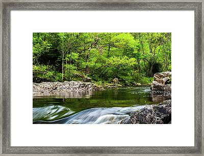 Linn Of Tummel Framed Print by David Ross