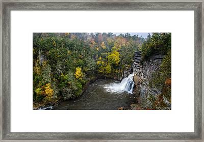 Linville Falls - Linville Gorge Framed Print
