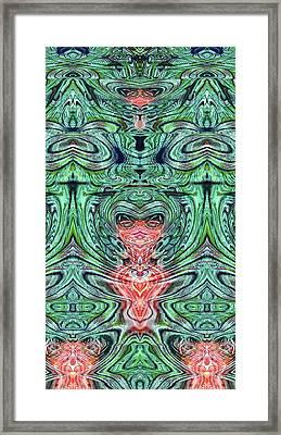 Liquid Cloth Framed Print