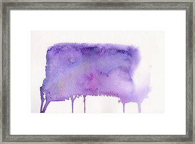 Framed Print featuring the painting Liquid Galaxy by Bee-Bee Deigner