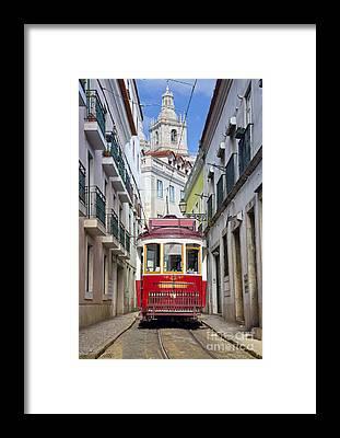 Iberian Peninsula Framed Prints