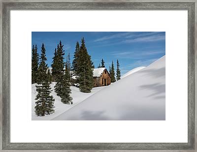 Little Cabin Framed Print