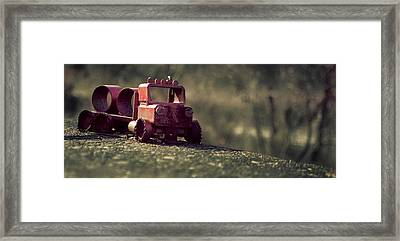 Little Engine That Could Framed Print