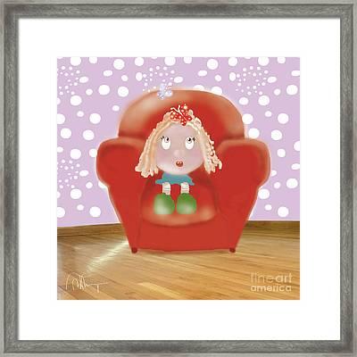 Little Ms Framed Print
