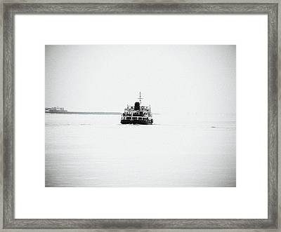 Liverpool. The Mersey Ferry 'royal Iris' Framed Print