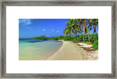 Living On An Island Framed Print