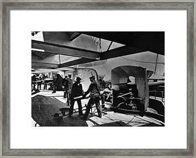 Loading Gun Framed Print by Hulton Archive