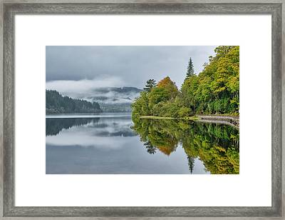 Loch Ard In Scotland Framed Print