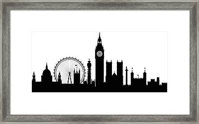 London Buildings Are Detailed, Complete Framed Print by Leontura