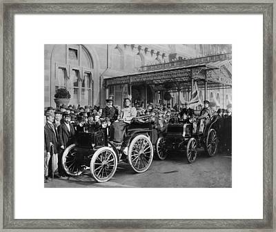 London To Brighton Framed Print by Hulton Archive