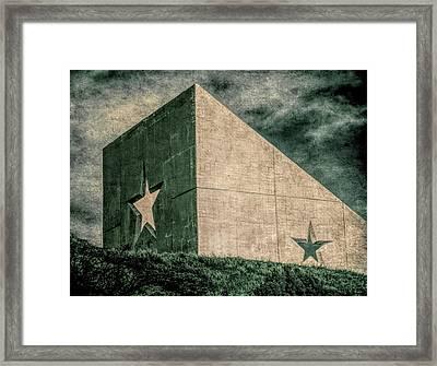 Lone Star  Framed Print by Tony Grider