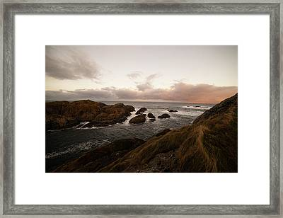 Long Exposure Arctic Framed Print