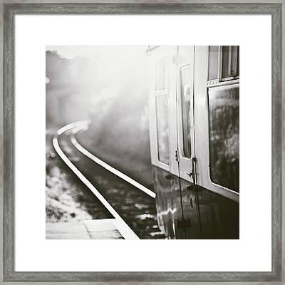 Long Train Running Framed Print