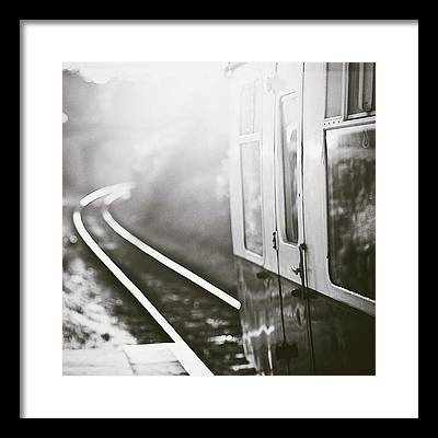 Railroad Station Photographs Framed Prints