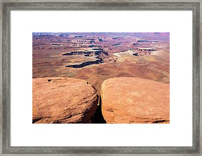 Look Out Point Framed Print