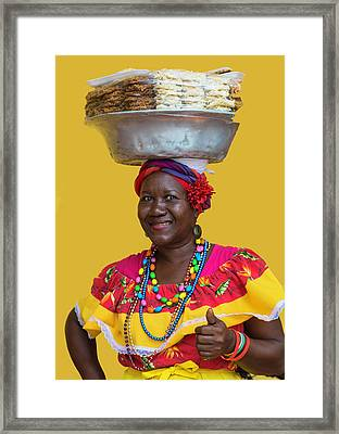 Los Palenques De Cartagena De Indias Framed Print