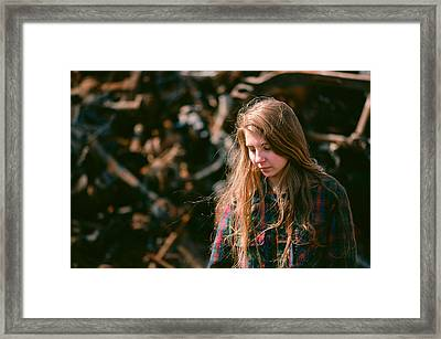 Framed Print featuring the photograph Lost In The Metal by Carl Young