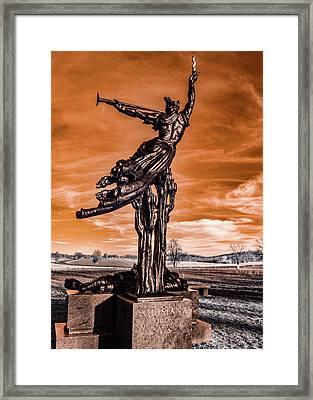 Louisiana Monument Framed Print