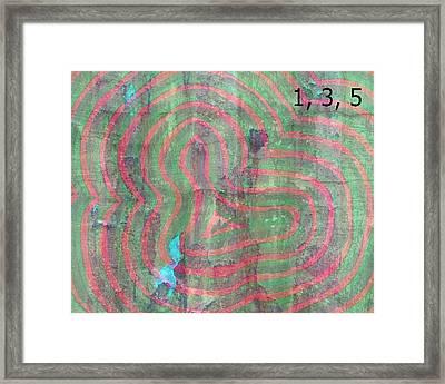 Love Canal Framed Print