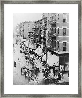 Lower East Side Framed Print by Fotosearch