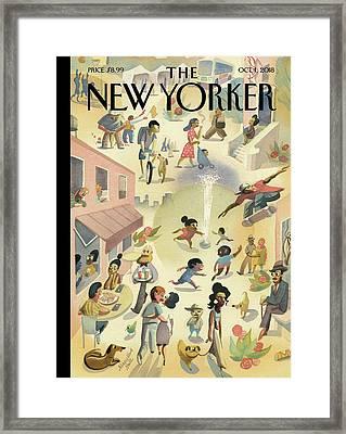 Lower East Side Framed Print