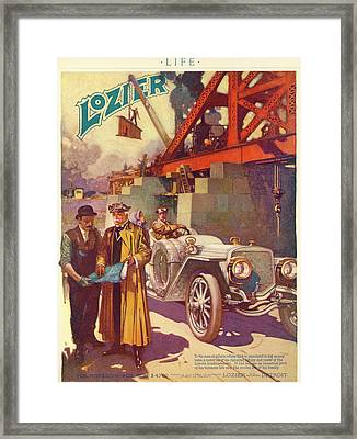 Lozier Advertisement Framed Print