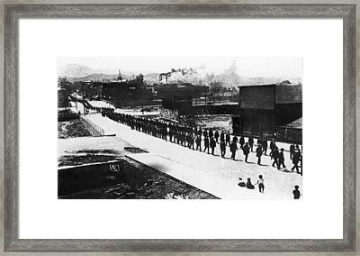 Ludlow Massacre Framed Print by Fotosearch