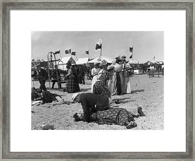 Lust In The Dust Framed Print by Paul Martin